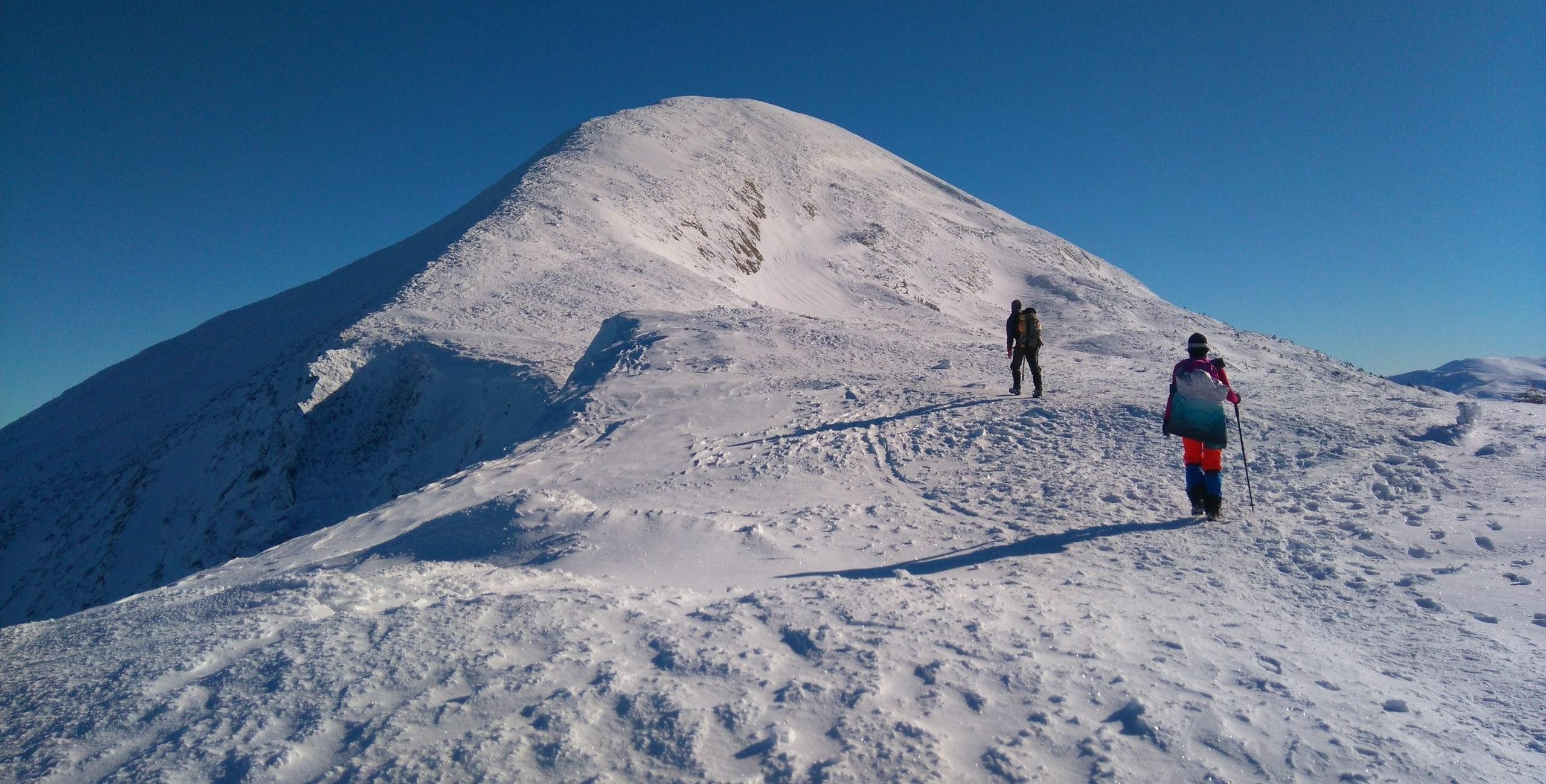 Дополнительный тур по зимним Карпатам - восхождение на Говерлу