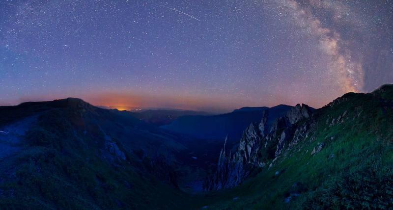 Походы по Карпатам - звездная ночь