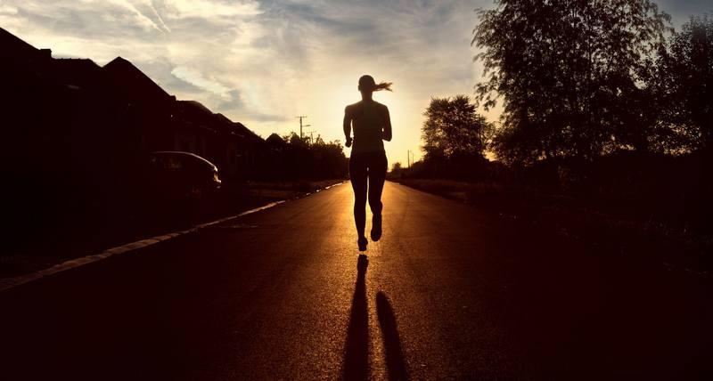 Тренировки перед походос в Карпаты - бег
