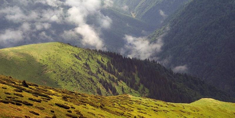облака в Гуцульских Альпах